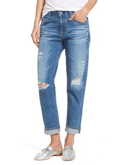 AG Ex-Boyfriend Crop Slim Jeans (15 Years Nebula)