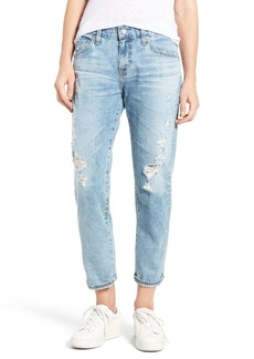 AG Ex-Boyfriend Crop Slim Jeans (24 Years Relief)