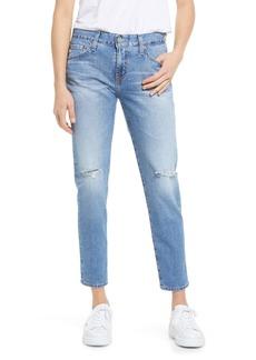 AG Adriano Goldschmied AG Ex-Boyfriend Distressed Slim Fit Jeans (22 Years Landmark Destructed)