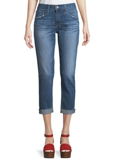 AG Adriano Goldschmied AG Ex-Boyfriend Mid-Rise Slim Crop Jeans