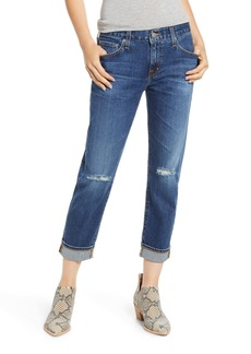 AG Adriano Goldschmied AG Ex-Boyfriend Relaxed Slim Jeans (7 Years Earnest Destructed)