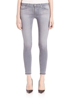 AG Legging Ankle Jeans With Let Down Hem