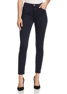 Ag Farrah Ankle Skinny Brushed-Sateen Jeans in Sulfur Dark Sky