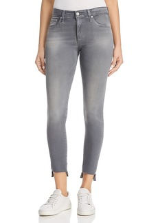 Ag Farrah Ankle Skinny Jeans in 10 Years Shadow Grey