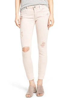 AG Farrah Ankle Skinny Jeans (Interstellar Worn Rose Quartz)