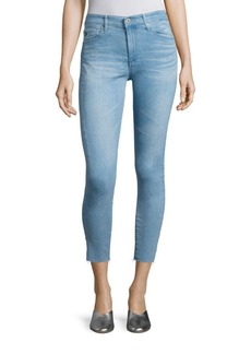 AG Farrah High-Rise Cropped Skinny Jeans