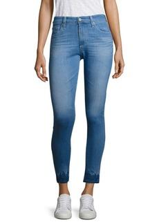 AG Farrah High-Rise Released Hem Ankle Skinny Jeans