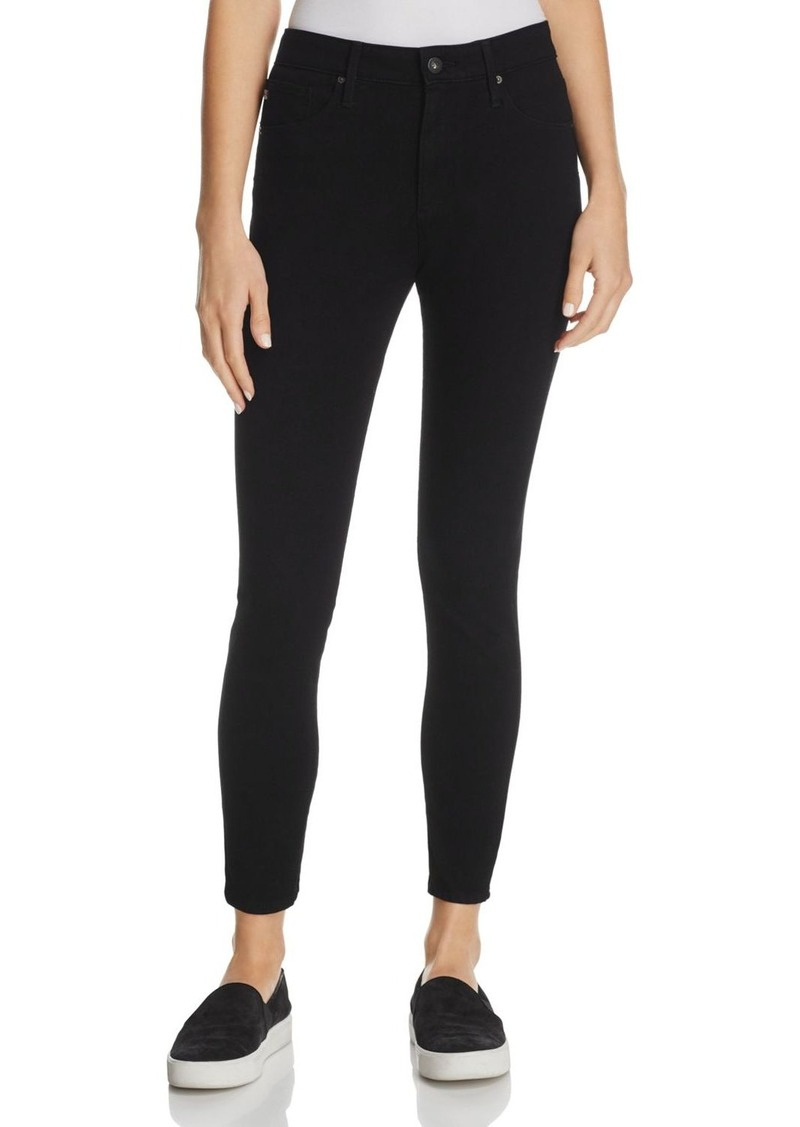 b4a1bd8299e7 AG Adriano Goldschmied AG Farrah High Rise Skinny Ankle Jeans in Black Tide