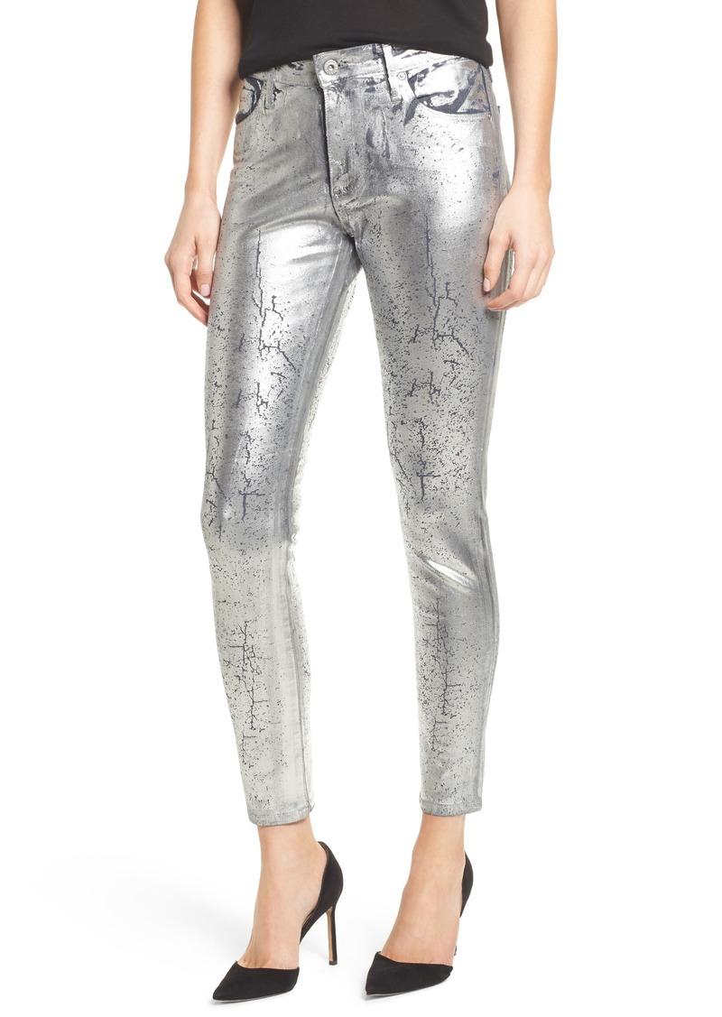 AG Adriano Goldschmied AG Farrah High Waist Ankle Skinny Jeans (Grey Mist)