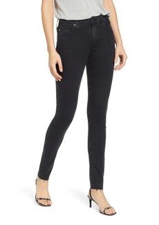 AG Adriano Goldschmied AG Farrah High Waist Skinny Jeans (Altered Black)