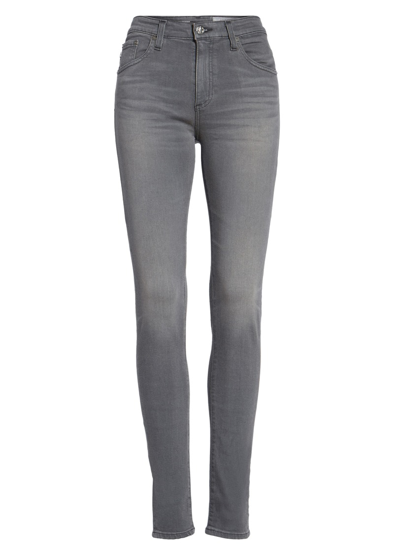 AG Adriano Goldschmied AG Farrah High Waist Skinny Jeans (4 Years Earl Grey)