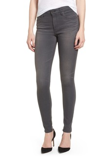 AG Farrah High Waist Skinny Jeans (4 Years Earl Grey)