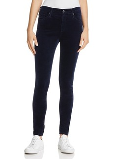 Ag Farrah Velvet Skinny Jeans in After Dark - 100% Exclusive