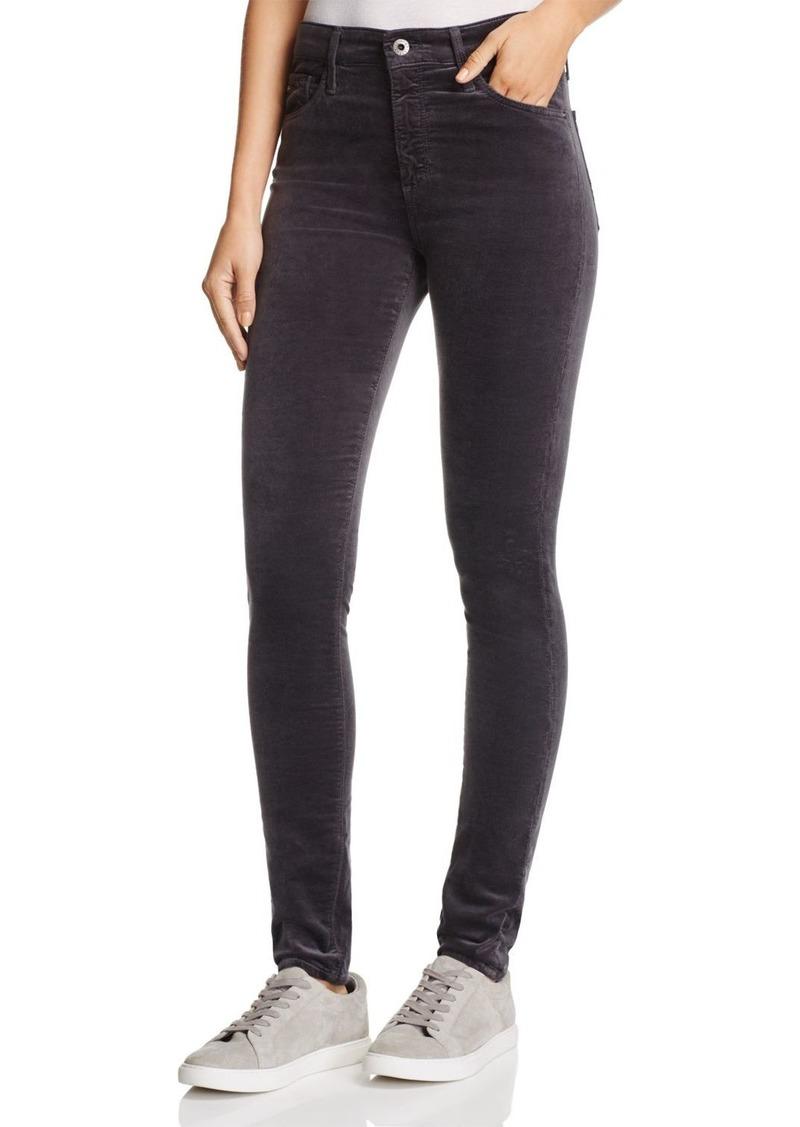 AG Adriano Goldschmied AG Farrah Velvet Skinny Jeans in Rich Mercury