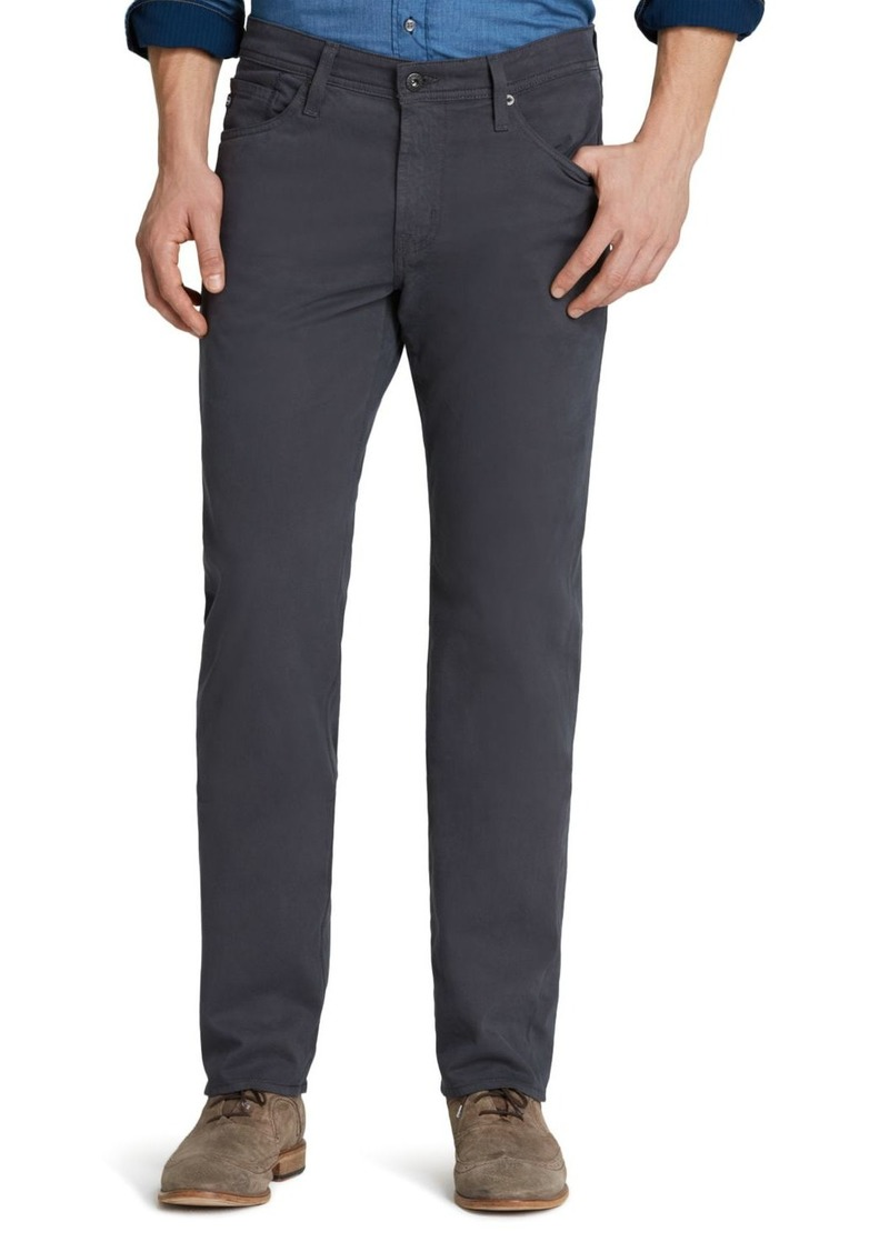 AG Adriano Goldschmied AG Graduate New Tapered Slim Straight Fit Jeans in Cellar Gray
