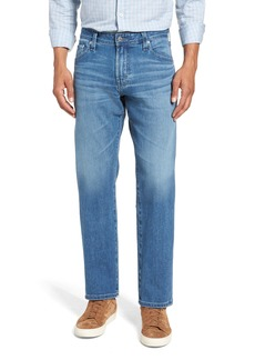 AG Adriano Goldschmied AG Graduate Slim Straight Leg Jeans (Demolition)