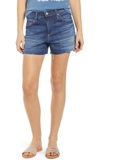 AG Adriano Goldschmied AG Hailey Boyfriend Cutoff Denim Shorts (11 Year Fortitude)