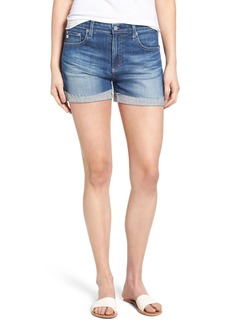 AG 'Hailey' Boyfriend Denim Shorts (10 Years Dispatch)