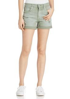 AG Hailey Distressed Denim Shorts