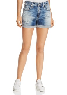 Ag Hailey Ex-Boyfriend Roll-Up Denim Shorts in 15 Years Undercool