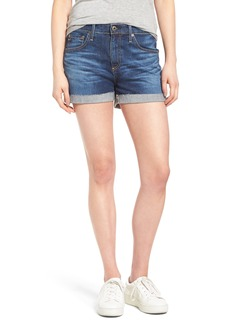 AG Hailey High Waist Denim Shorts (Masquerade)