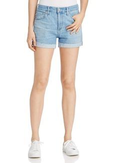 AG Hailey Rolled Cuff Denim Shorts