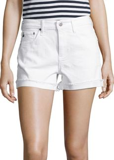 AG Adriano Goldschmied Hailey Slouchy Cuffed Denim Shorts