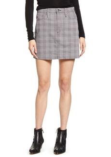 AG Adriano Goldschmied AG Harlo Plaid Miniskirt