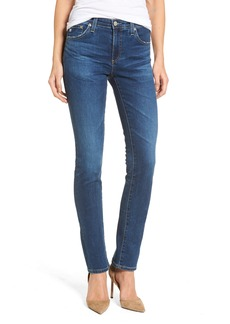 AG Harper Slim Straight Leg Jeans (8 Years Blue Portrait)