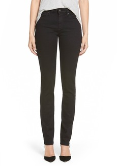 AG Harper Slim Straight Leg Jeans (Overdyed Black)