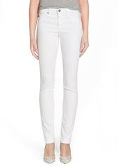 AG Adriano Goldschmied AG 'Harper' Slim Straight Leg Jeans (White)