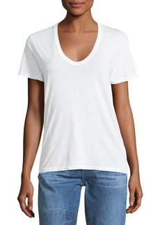AG Adriano Goldschmied Henson V-Neck Cotton Tee