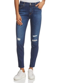 AG High-Rise Skinny Ankle Jeans in Blaker - 100% Exclusive