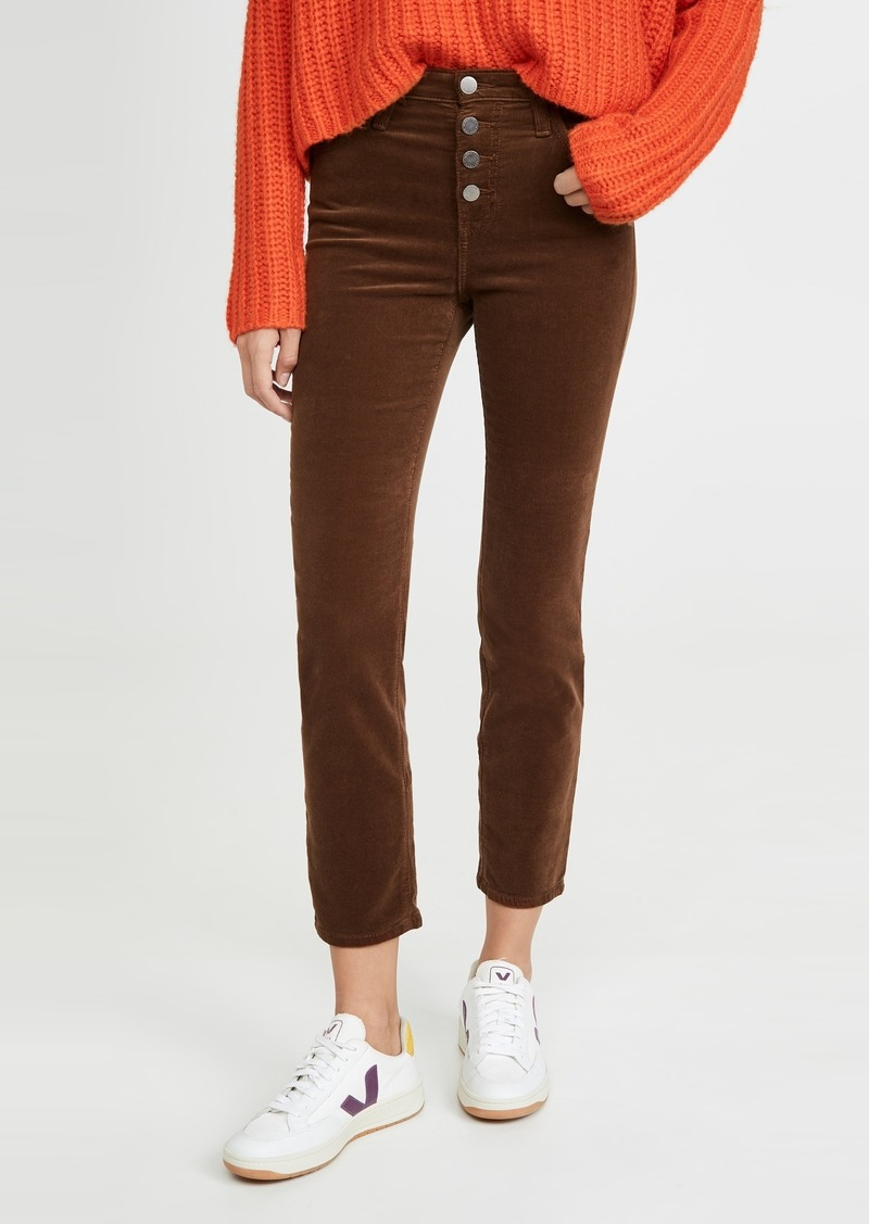 AG Adriano Goldschmied AG Isabelle Corduroy Button Up Pants