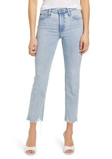 AG Adriano Goldschmied AG Isabelle High Waist Ankle Straight Leg Jeans (1996 Era)