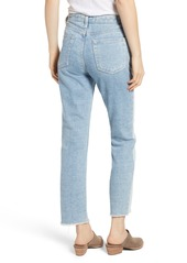AG Adriano Goldschmied AG Isabelle High Waist Crop Straight Jeans (Infamous)