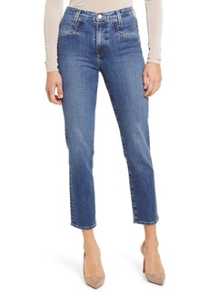 AG Adriano Goldschmied AG Isabelle High Waist Seamed Ankle Jeans (Mazarine)