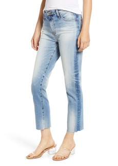 AG Adriano Goldschmied AG Isabelle High Waist Shadow Seam Ankle Jeans (19 Years Blue Accent)