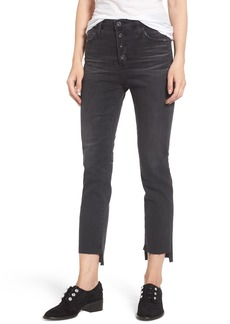 AG Isabelle High Waist Step Hem Jeans (10 Years Generation)