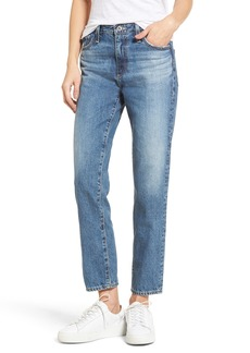 AG Adriano Goldschmied AG Isabelle High Waist Straight Leg Crop Jeans (23 Years Wind Worn)