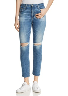 AG Isabelle Skinny Jeans in 13 Years Saltwater
