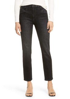 AG Adriano Goldschmied AG Isabelle Straight Leg Ankle Jeans (Hollow Road)