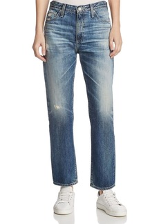 AG Isabelle Straight-Leg Jeans In 23 Years Wind Worn