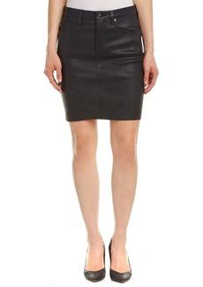 AG Jeans AG Jeans Erin Leather Pencil Skirt