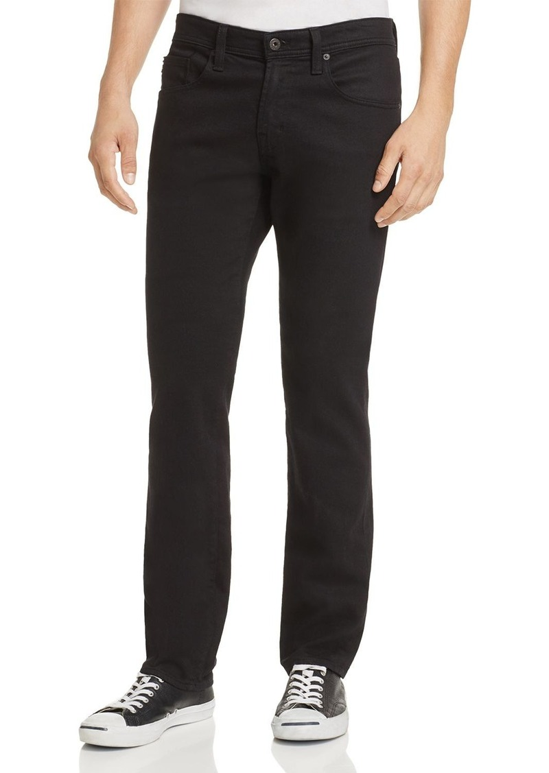 AG Adriano Goldschmied AG Jeans Graduate New Tapered Slim Straight Fit Jeans in Sulfur True Black
