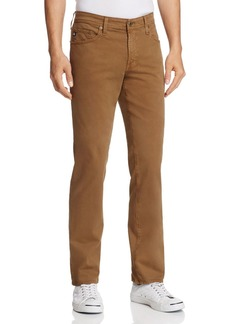 AG Adriano Goldschmied AG Jeans Graduate New Tapered Slim Straight Fit Pants in Rustic Brass