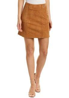 AG Adriano Goldschmied Ag Jeans Juliette Nautical Suede Skirt
