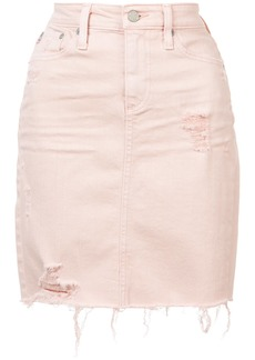 AG Adriano Goldschmied Ag Jeans mini denim skirt - Pink & Purple