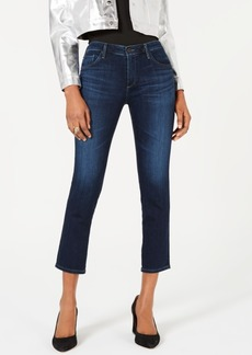 AG Adriano Goldschmied Ag Jeans Prima Cropped Mid-Rise Jeans