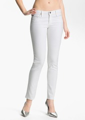 AG Adriano Goldschmied AG Jeans 'Stilt' Cigarette Leg Stretch Jeans (White)